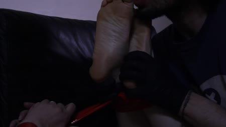 Csi lesbian foot sucking